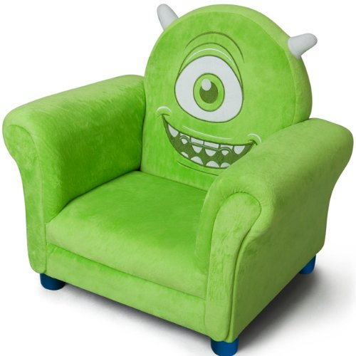 Kindersessel grün  Disney Monster University Fernsehsessel grün - kindercouch.com