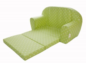 Gepetto Mini Kindersofa grün